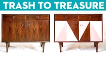 We Gave These Vintage Furniture Pieces A New Life | Trash to Treasure