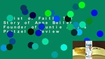 Twist of Faith: The Story of Anne Beiler, Founder of Auntie Anne's Pretzels  Review