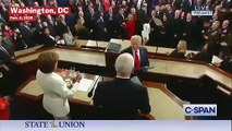 Trump Appears to Snub Pelosi's Handshake Moments Before Giving SOTU Address