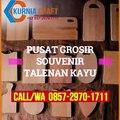 GROSIR WA O857-297O-1711 Harga Jual Souvenir Talenan Kayu Solo