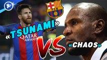 Le clash Messi-Abidal choque la presse espagnole