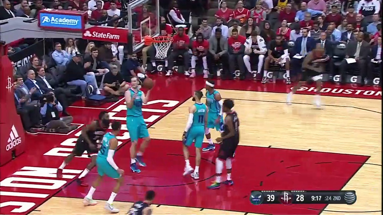 Charlotte Hornets 110 - 125 Houston Rockets