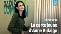 Municipales à Paris : 21 ans et tête de liste d'Anne Hidalgo dans le VIIIe