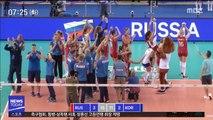 [이 시각 세계] 국제배구연맹, '눈 찢기' 러시아 코치에 3경기 징계