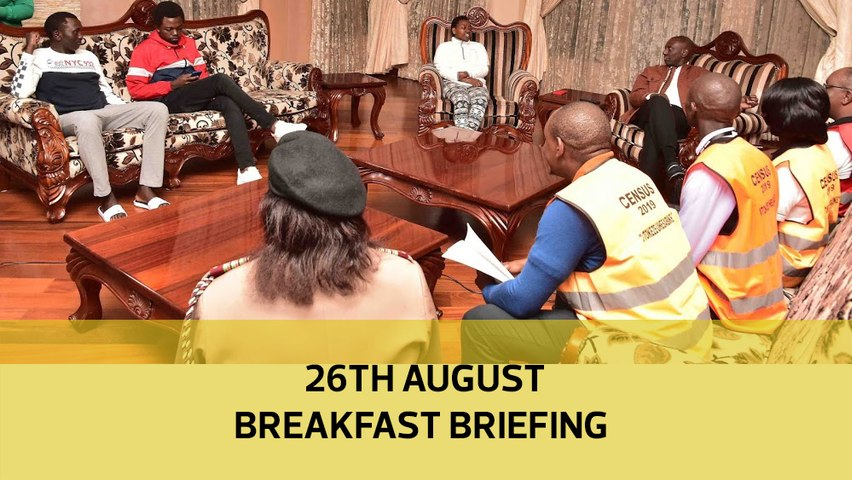Kenya in oil exportation| Census official gang- raped| Kibra MP by-election: Your Breakfast Briefing