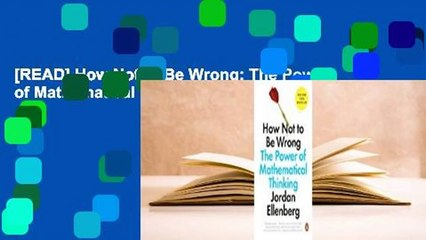 [READ] How Not to Be Wrong: The Power of Mathematical Thinking