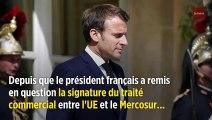 Bolsonaro s'en prend à Macron en visant sa femme