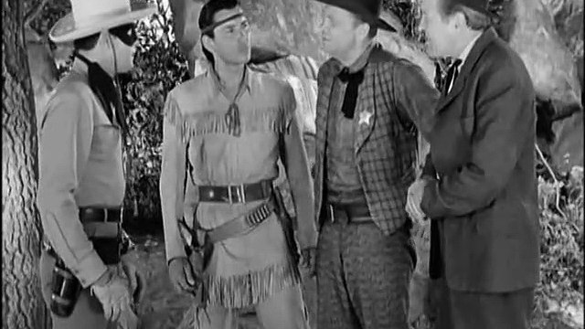 "Classic TV - The Lone Ranger -  ""The Lone Ranger's Triumph""  (1949)"