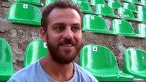 """Ünlü oyuncu Erkan Kolçak Köstendil  """"12 Numaralı Adam"""" oyunuylaizleyenleri mest etti"""