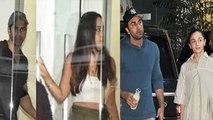 Alia Bhatt-Ranbir Kapoor & Varun Dhawan-Natasha Dalal stepped out for movie| FilmiBeat