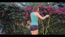 Yoga sports Female Fitness Valentine_cut