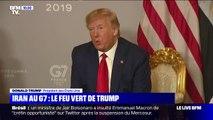 Donald Trump affirme avoir donné son feu vert pour la visite du chef de la diplomatie iranienne au G7