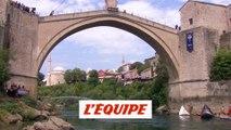 Rhiannan Iffland sacrée à Mostar - Adrénaline - Plongeon extrême