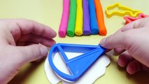 251.Rainbow Clay - DIY Playing with Molds - English Colors for Toddlers