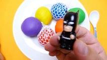 253.Play-Doh Ice Cream Balls with Surprise Balls - SpongeBob, Masha & Mickey Mouse