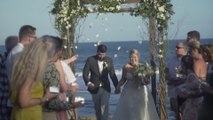 Bride Falls on Back Walking Down the Aisle With Her Husband