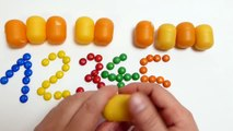 353.M&M's Learning Numbers for Kids - English Lesson