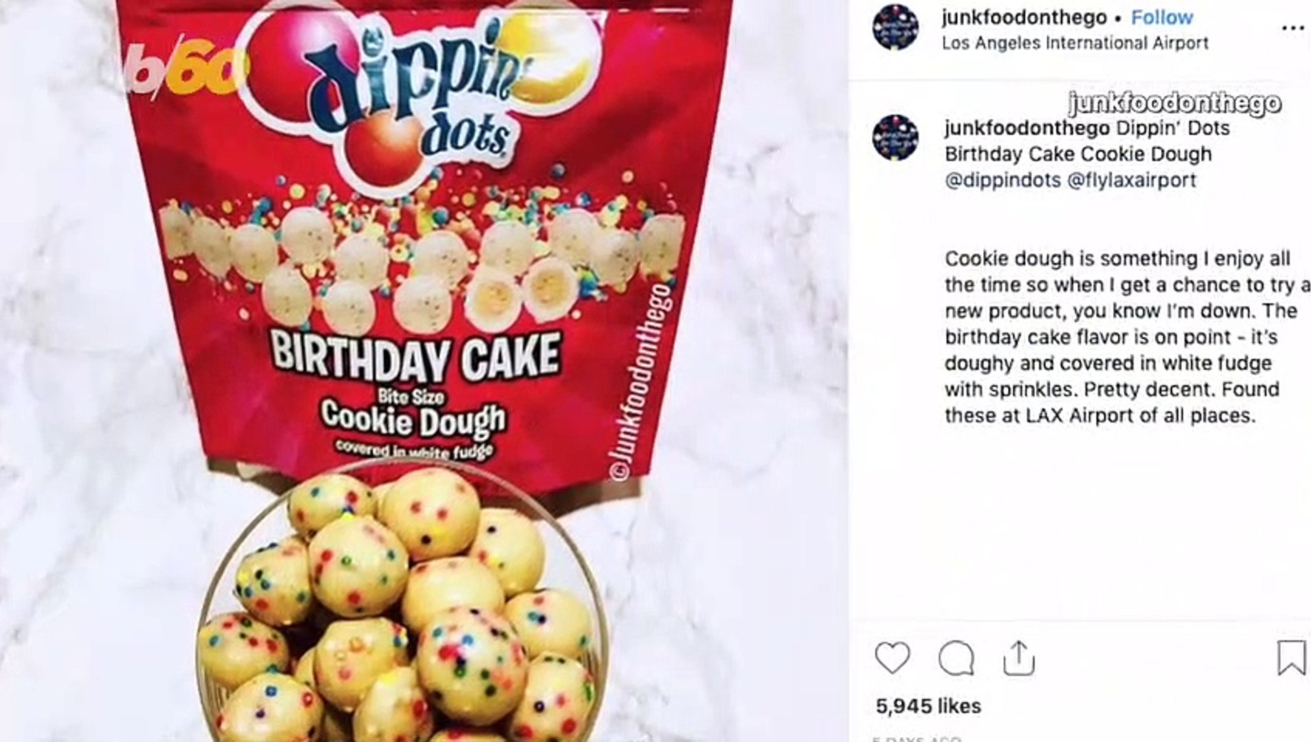 Superb Dippin Dots Now Makes Cookie Dough Bites And We Want More Funny Birthday Cards Online Kookostrdamsfinfo