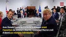 Macron-Trump : deux visions du G7