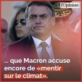 Incendies en Amazonie: pourquoi rien ne va plus entre Macron et Bolsonaro