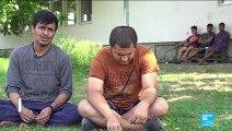 Des Rohingyas arrivent en Serbie au terme d'un long périple