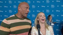D23 Expo 2019: Dwayne Johnson And Emily Blunt