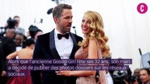 Ryan Reynolds trolle Blake Lively sur Instagram pour son anniversaire
