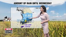 Autumn monsoon arrives in the southern region, heavy downpour in Jeju _ 082619