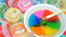 DIY How to Make Giant Wrap Clay SLIME- Magic giant Flubber-