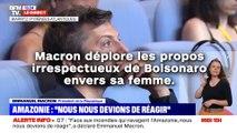 Macron déplore les propos irrespectueux de Bolsonaro  envers sa femme !