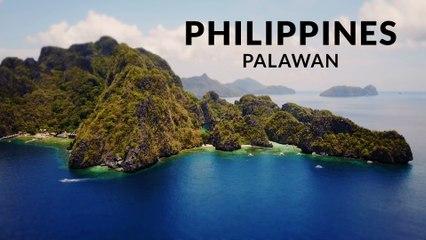 Palawan - Pristine Philippines (4k - Time lapse - Aerial - Tilt shift)
