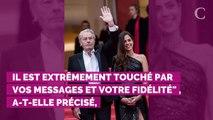 """Alain Delon va """"plus que mieux"""" : sa fille Anouchka donne de ses nouvelles et pousse un coup de gueule"""