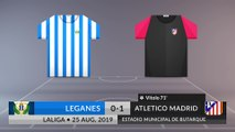 Match Review: Leganes vs Atletico Madrid on 25/08/2019