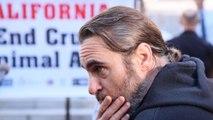 Joaquin Phoenix was fearful of taking on villanious joker role
