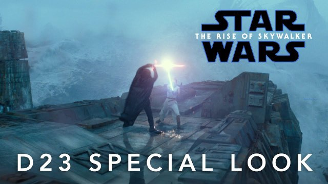 Star Wars 9 The Rise Of Skywalker trailer #2- D23 Special Look