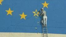 Une fresque murale de Banksy disparaît mystérieusement à Douvres
