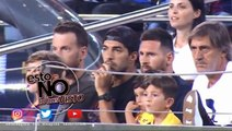 Messi'nin oğlu Real Betis'in Attığı Gole Seviniyor