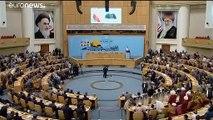 Presidente iraniano reage a críticas à visita de Zarif a Biarritz