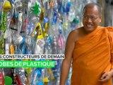 Série constructeurs de demain : des robes de moine faites de plastique