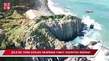 Şile'de kimyasal madde sızıntısı iddiası