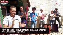 Fort Boyard : Olivier Minne ému aux larmes par une belle séquence (vidéo)