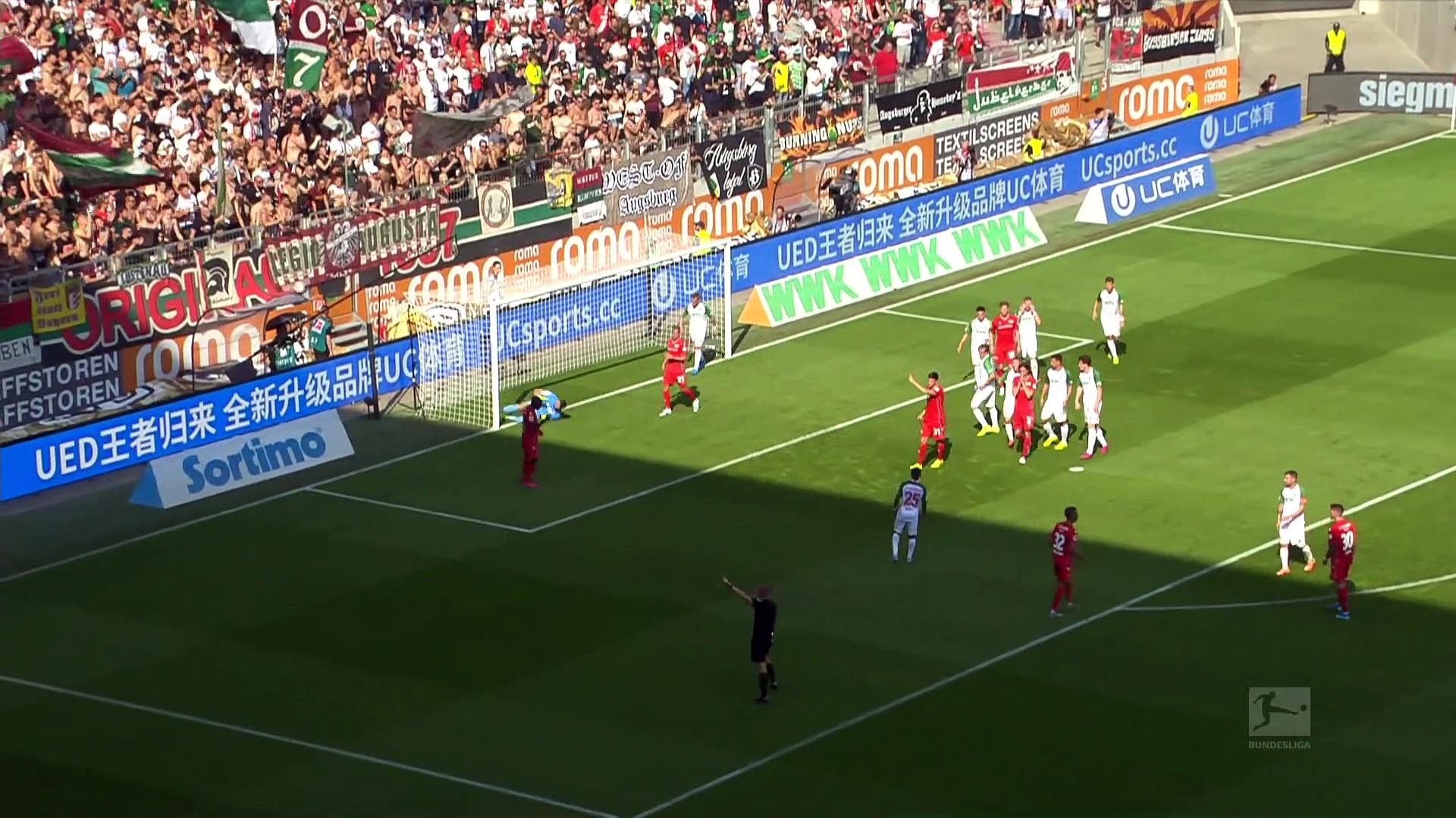 2. Hafta / Augsburg - Union Berlin: 1-1 (Özet)