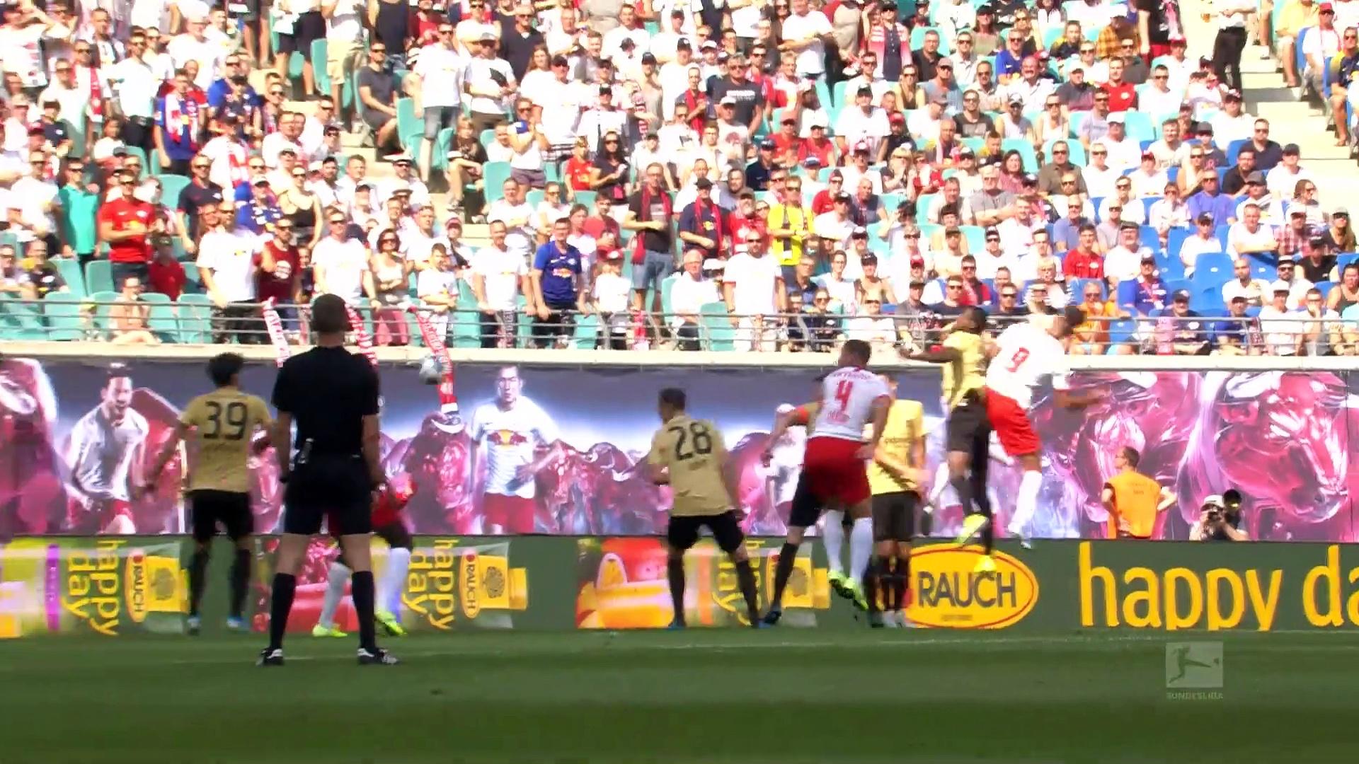 2. Hafta / RB Leipzig - E.Frankfurt: 2-1 (Özet)