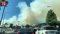 Kaliforniya'daki yangının dumanları Los Angeles'ın üzerini kapladı