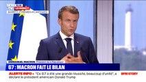 """Russie-Ukraine: Emmanuel Macron annonce une réunion """"des chefs d'État et de gouvernement en format Normandie"""" en septembre"""