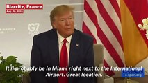Trump On Next G7 In Miami: 'We're Thinking About It'