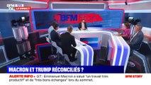G7 à Biarritz: Emmanuel Macront et Donald Trump s'expriment