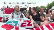 """Anti-G7: marche symbolique jusqu'à la """"zone rouge"""" de Biarritz"""