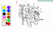 Colorant Beau clown | Peindre pour les jeunes enfants et dessiner pour les enfants