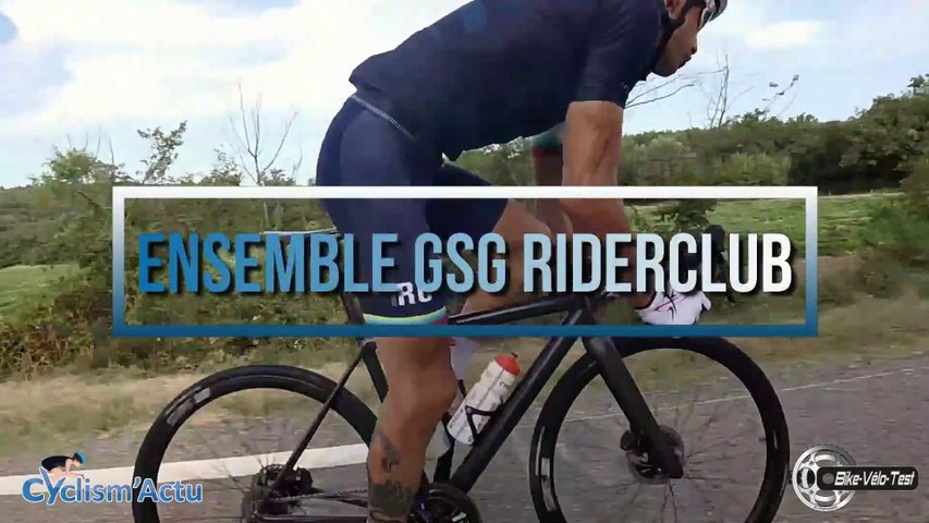 Bike Vélo Test  - Cyclism'Actu a testé la tenue GSG RiderClub